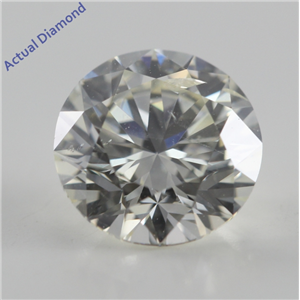 Round Cut Loose Diamond (1.01 Ct, I, SI1) IGL Certified