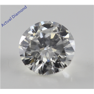 Round Cut Loose Diamond (1.01 Ct, G, SI1) DGI Certified
