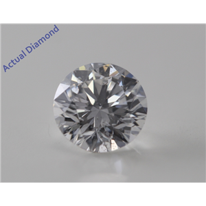 Round Cut Loose Diamond (1.03 Ct, E, SI2) GIA Certified