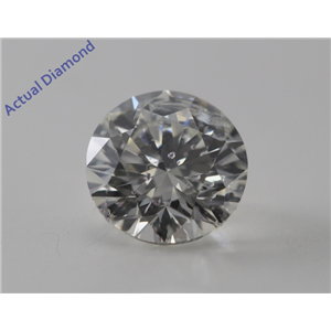 Round Cut Loose Diamond (1.03 Ct, H, SI2) IGL Certified