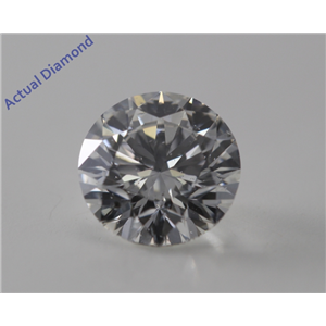 Round Cut Loose Diamond (1.05 Ct, I, SI2) GIA Certified
