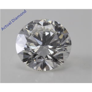 Round Cut Loose Diamond (1.21 Ct, H, VS2) GIA Certified