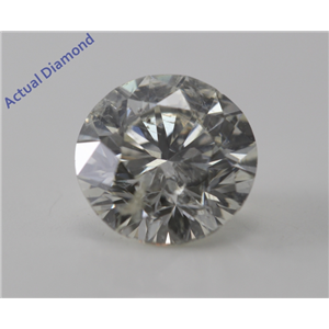 Round Cut Loose Diamond (1.32 Ct, H, SI2) IGL Certified