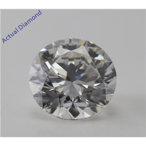 Round Cut Loose Diamond (1 Ct, I, VVS2) GIA Certified