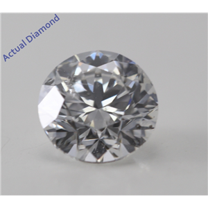 Round Cut Loose Diamond (1.01 Ct, G, I1) GIA Certified