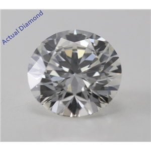 Round Cut Loose Diamond (1.15 Ct, I, VS1) GIA Certified