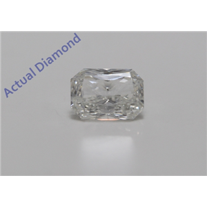 Radiant Cut Loose Diamond (0.75 ct Ct, F Color, SI1 Clarity) IGL Certified