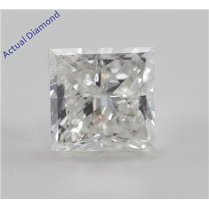 Princess Cut Loose Diamond (1 Ct, G, SI2(Clarity Enhanced)) IGL Certified