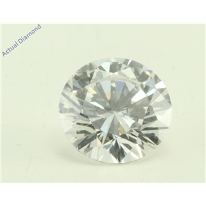 Round Cut Loose Diamond (1.09 Ct, F(Irradiated) Color, VVS2 Clarity) GIA Certified