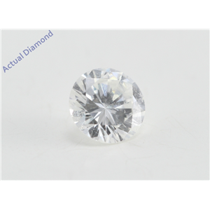Round Cut Loose Diamond (0.31 Ct, E Color, SI1 Clarity)