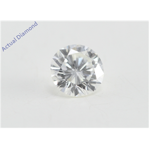 Round Cut Loose Diamond (0.31 Ct, G Color, SI1 Clarity)