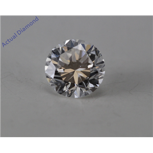 Round Cut Loose Diamond (0.48 Ct, E Color, VS2 Clarity) GIA Certified