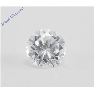Round Cut Loose Diamond (0.23 Ct, F Color, VS2 Clarity)