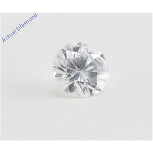 Round Cut Loose Diamond (0.22 Ct, F Color, VS2 Clarity)