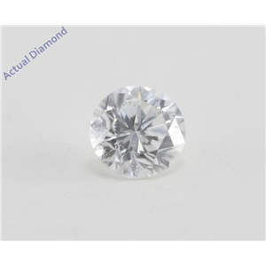Round Cut Loose Diamond (0.26 Ct, F Color, VS2 Clarity)