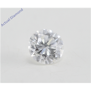 Round Cut Loose Diamond (0.25 Ct, F Color, VS2 Clarity)