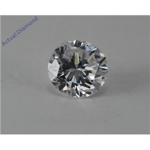 Round Cut Loose Diamond (0.48 Ct, E Color, SI1 Clarity) GIA Certified