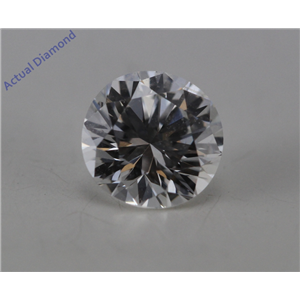 Round Cut Loose Diamond (0.52 Ct, F Color, SI1 Clarity) GIA Certified