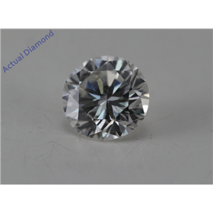 Round Cut Loose Diamond (0.54 Ct, G Color, SI1 Clarity) GIA Certified