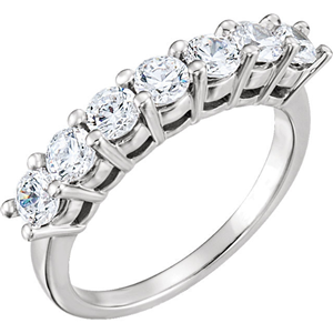 Round Diamond Solitaire Engagement Ring 14k White Gold 1.71 Ct, (F Color, VS2 Clarity)