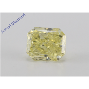 Radiant Cut Loose Diamond (1.76 Ct, Fancy Intense Yellow Color, SI2 Clarity) IGI Certified