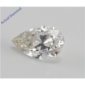 Pear Cut Loose Diamond (1.4 Ct, k, SI1) WGI Certified