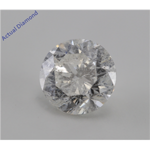 Round Cut Loose Diamond (1.26 Ct, I, I2(K.M))