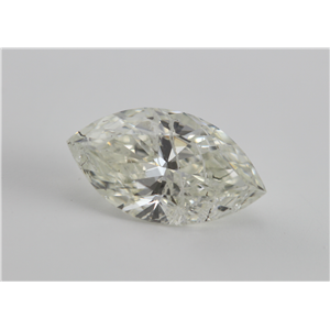 Marquise Cut Loose Diamond (1.53 Ct, I-J, SI3(Laser Drilled)) IGL Certified