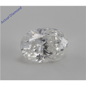 Oval Cut Loose Diamond (0.47 Ct, E ,I1(K.M))