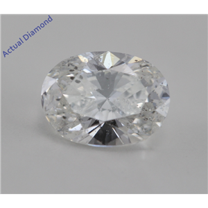 Oval Cut Loose Diamond (0.7 Ct, G, I1(K.M))