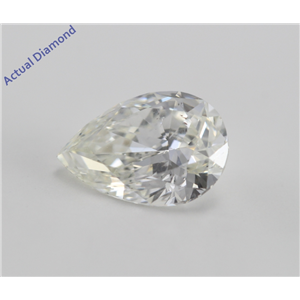 Pear Cut Loose Diamond (1.12 Ct, I, VS2) IGL Certified