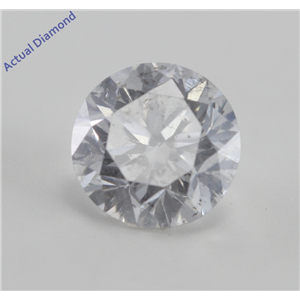 Round Cut Loose Diamond (0.95 Ct, E, I1) IGL Certified