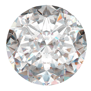 Round Cut Loose Diamond (1.06 Ct, J, I1(ClarIty Enhanced))