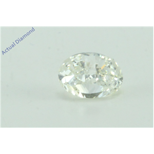 Oval Millennial Sunrise (Limited Edition) Cut Loose Diamond (0.51 Ct, J Color, VS2 Clarity)