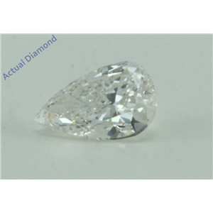 Pear Cut Loose Diamond (0.57 Ct, G Color, VS2 Clarity) IGL Certified