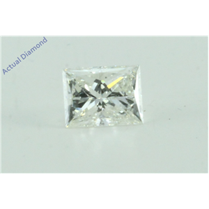Princess Cut Loose Diamond (0.46 Ct, I Color, VS2 Clarity)