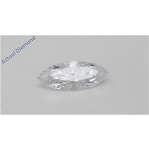 Marquise Cut Loose Diamond 0.53 Ct,F Color,SI3 Clarity