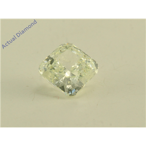 Radiant Cut Loose Diamond (0.75 Ct, Natural Fancy Color Light Yellow Green Color, SI3 Clarity) GIA Certified