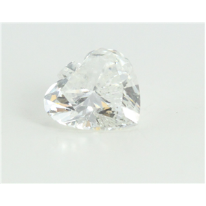Spade Cut Loose Diamond (0.75 Ct, G Color, si1 Clarity) IGL Certified