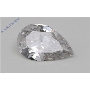 Pear Cut Loose Diamond (0.83 Ct, H Color, si3 Clarity)
