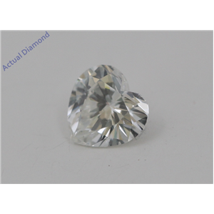 Heart Cut Loose Diamond (0.55 Ct, I Color, si1 Clarity) IGL Certified