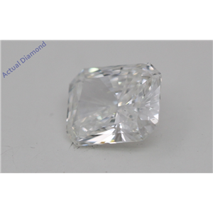 Radiant Cut Loose Diamond (0.54 Ct, I Color, vs2 Clarity)
