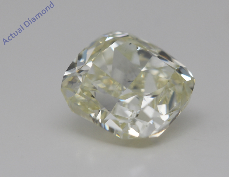 Cushion Cut Loose Diamond 2 17 Ct Y Z Color Si2 Clarity Gia Certified
