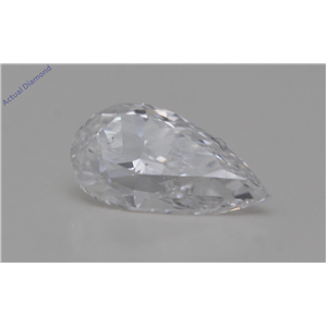 Pear Cut Loose Diamond (0.94 Ct,D Color,VS2 Clarity) GIA Certified