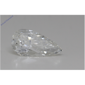 Pear Cut Loose Diamond (1.01 Ct,I Color,SI1 Clarity) GIA Certified
