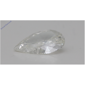 Pear Cut Loose Diamond (1.15 Ct,H Color,SI1 Clarity) IGL Certified