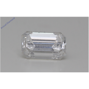 Emerald Cut Loose Diamond (1.01 Ct,G Color,SI1 Clarity) GIA Certified