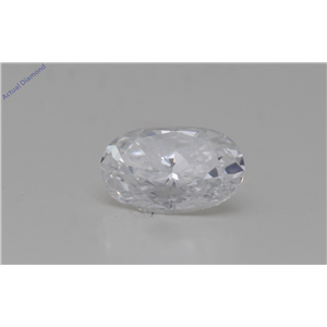 Oval Cut Loose Diamond (1.01 Ct,D Color,VS1 Clarity) GIA Certified