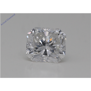 Radiant Cut Loose Diamond (1.01 Ct,E Color,VVS1 Clarity) GIA Certified