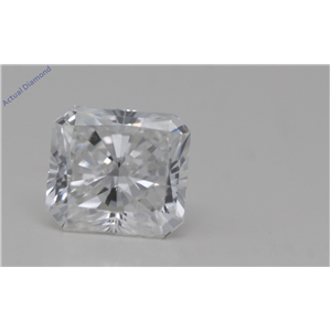 Radiant Cut Loose Diamond (1.01 Ct,F Color,FL Clarity) GIA Certified
